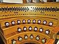 Saarbrücken-Burbach, Herz Jesu (Mayer-Orgel, Spieltisch) (7).jpg
