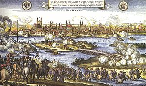 Sectarianism - The sack of Magdeburg by Catholic army in 1631. Of the 30,000 Protestant citizens, only 5,000 survived.