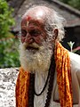 Sadhu outside Changu Narayan Temple - Outside Bhaktapur - Nepal (13536470455).jpg