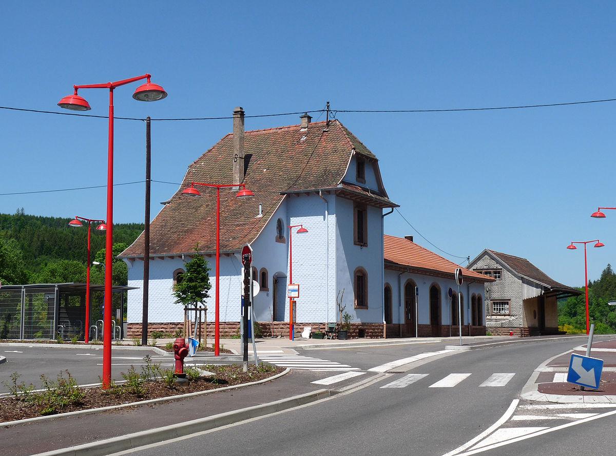 Gare de saint blaise la roche poutay wikip dia for Garage de la gare bretigny