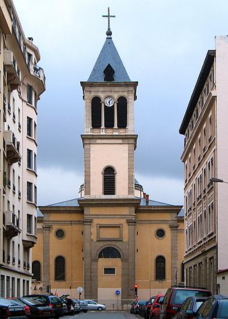 Saint Pothinus - Church of Saint-Pothinus in Lyon.
