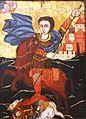 Saint Demeterius serb painter H1 18th cent IMG 0424 serb museum szentendre.JPG