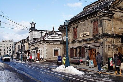 Sakaimachi street Otaru Hokkaido16n