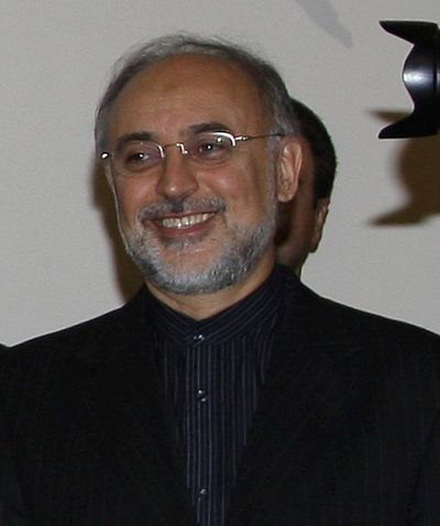 Ali Akbar Salehi current head of Iranian Atomic Energy Organisation, is a professor of Mechanical Engineering and two-term president of Sharif University of Technology Sakehi.jpg