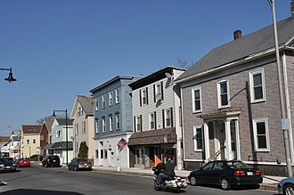 National Register of Historic Places listings in Salem, Massachusetts - Image: Salem MA Bridge Street