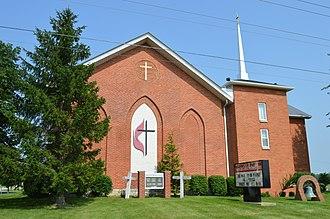 Cass Township, Hancock County, Ohio - Salem Cass United Methodist Church