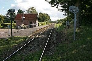 Saltrup railway halt - Saltrup railway halt in 2007