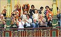 A celebration occurred at the Spanish Congress the day the same-sex marriage law was approved.