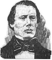 Drawing of Samuel H. Smith