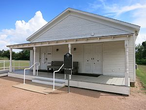 National Register of Historic Places listings in Austin County, Texas - Image: San Felipe TX Josey Store