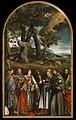 San Francesco che riceve le stigmate e sei Santi (1545), Francesco Beccaruzzi.jpg