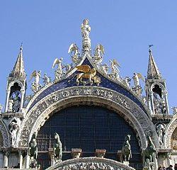 Basiliek van san marco veneti wikipedia for Esterno basilica di san marco