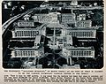 Sanatorio Mussolini, Rome; bird's eye view. Process print. Wellcome V0014425.jpg