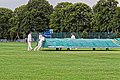 Sandwich Town CC mobile cricket pitch covers at Sandwich, Kent, England 10.jpg