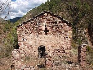 Resultat d'imatges de ermita Sant genis de tost