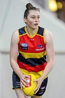 Sarah Allan (footballer) Australian rules footballer