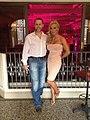 Sarah Donohue and husband Lee Barrett.jpg