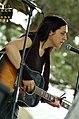 Sarah White at Nelsonville Music Festival in Nelsonville OH May 2008.jpg