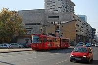 Sarajevo Tram-508 Line-3 2011-10-31.jpg