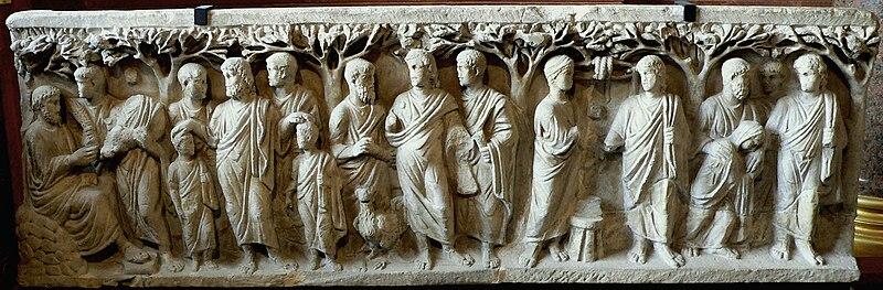 Archivo:Sarcophage à arbres, Louvre 00.JPG