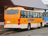Saroma town bus Ki200Z 0145rear.JPG