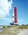 Saturn V at Kennedy Space Center 1972.jpg