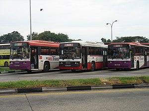 Singapore Bus Service - Image: Scania N113 SBS2