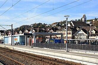 Schmerikon - Schmerikon train station