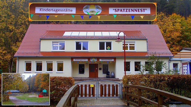 File:Schmiedeberg KITA Spatzennest im Molchgrund.jpg