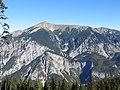 Schneeberg Südseite von der Rax gesehen.jpg