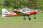 Scottish Aviation Bulldog 121 'XX629' (G-BZXZ) (33059266615).jpg