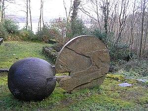 Glenfarne - Sculpture in Glenfarne Forest
