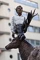 Sculpture Mann mit Hirsch Stephan Balkenhol Andreaeplatz Hanover Germany.jpg