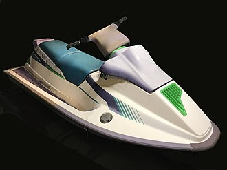 Sea-Doo - 1992 SeaDoo XP generation one, the original high performance runabout style PWC.