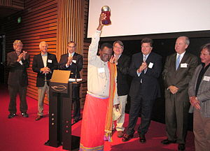 Seacology - Rabary Desiré of Madagascar was awarded the Seacology Prize in 2010.
