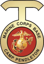 Seal of Marine Corps Base Camp Pendleton