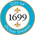 Seal of Ocean Springs, Mississippi.jpg
