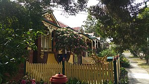 Ashbury, New South Wales - File:Second Street Ashbury, Federation Streetscape