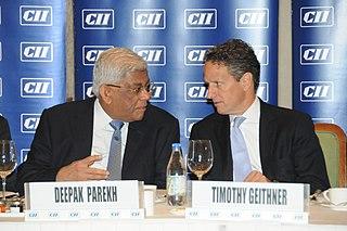 Deepak Parekh Chairman of Indias Housing Development Finance Corporation