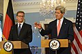 Secretary Kerry and German Foreign Minister Westerwelle Address Reporters (May 31, 2013).jpg