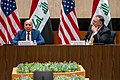 Secretary Pompeo and Iraqi Foreign Minister Hussein Deliver Opening Remarks at the U.S.-Iraq Strategic Dialogue (50244084068).jpg