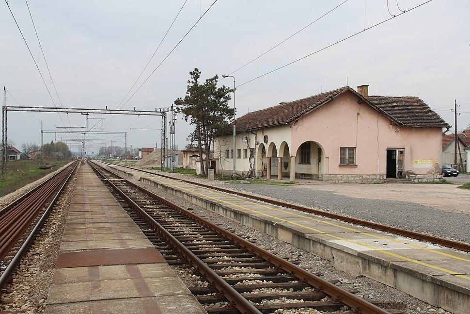 Selo Divci - opština Valjevo - zapadna Srbija - železnička stanica Divci