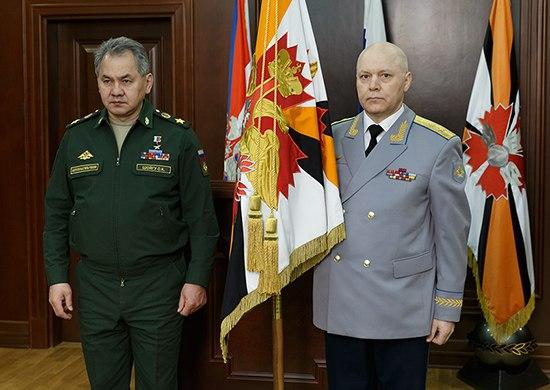 Sergey Shoigu and Igor Korobov (2016-02-02)