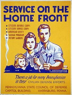United States home front during World War II The civilian population and activities of the United States during World War II