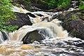Severo-Priladozhsky reserve. Ruskealsky waterfall. Water flow.jpg