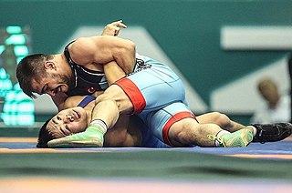 Sezar Akgül Turkish freestyle wrestler