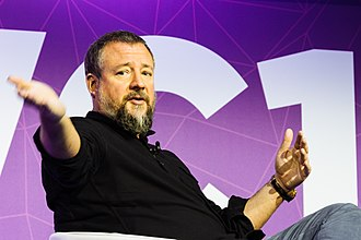 Vice Media - Shane Smith of Vice Media during Mobile World Congress 2017