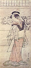Segawa Yūjirō II as the maid Otowa