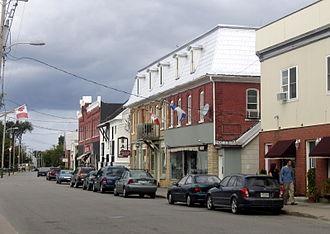 Shawville, Quebec - Shawville main street.