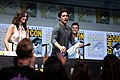 Shelley Hennig, Dylan O'Brien & Charlie Carver (35746408290).jpg